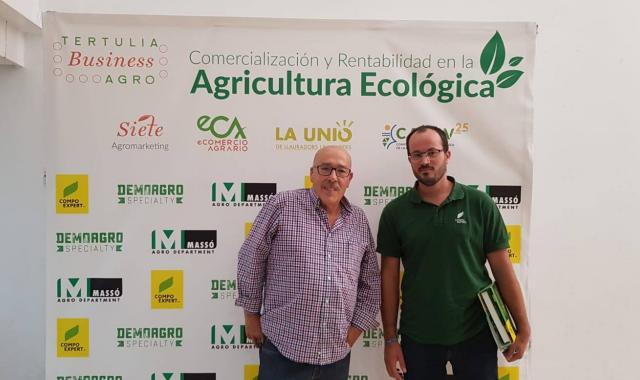 COMPO EXPERT en la tertulia BusinessAGRO sobre agricultura ecológica