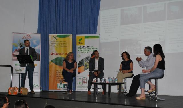 tertulia BusinessAGRO sobre agricultura ecológica