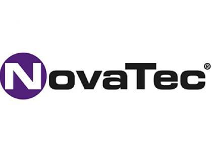 Historie NovaTec Schriftzug